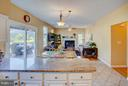 Open kitchen family room. - 35086 HARRY BYRD HWY, ROUND HILL