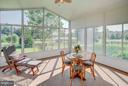 Great 3 seasons sun porch. - 35086 HARRY BYRD HWY, ROUND HILL