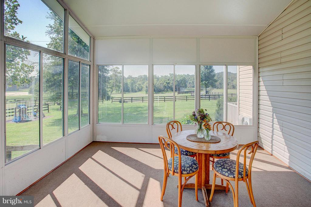 Wonderful view of the pastures. - 35086 HARRY BYRD HWY, ROUND HILL
