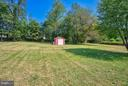 Great old stone wall at back of property. - 35086 HARRY BYRD HWY, ROUND HILL