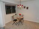 Dining room area - 2500 VAN DORN ST N #124, ALEXANDRIA