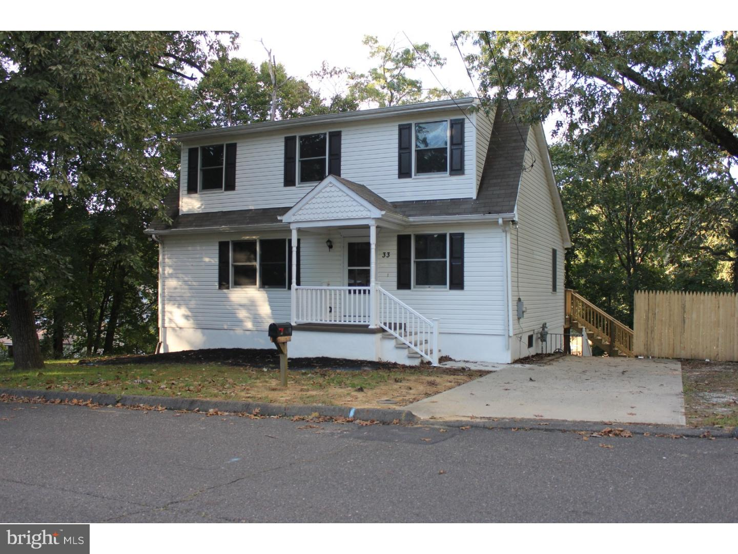 Single Family Home for Sale at 33 W 2ND Avenue Pine Hill, New Jersey 08021 United States