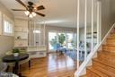 Open floor plan - 6800 DUKE DR, ALEXANDRIA