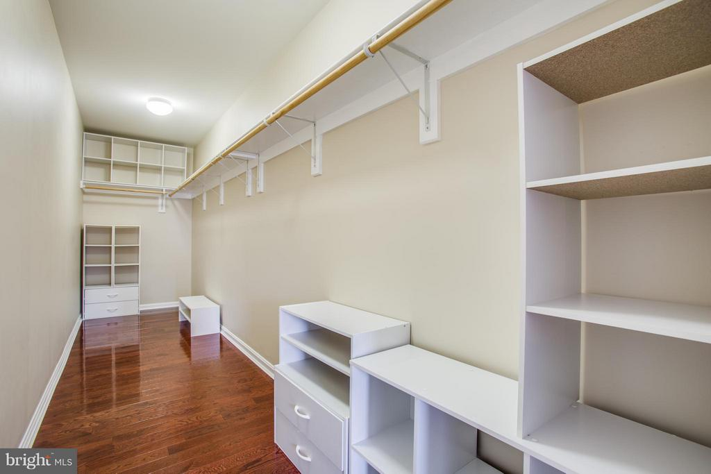 Organize it! Large walk-in closet with built-ins. - 81 FOUNTAIN DR, STAFFORD