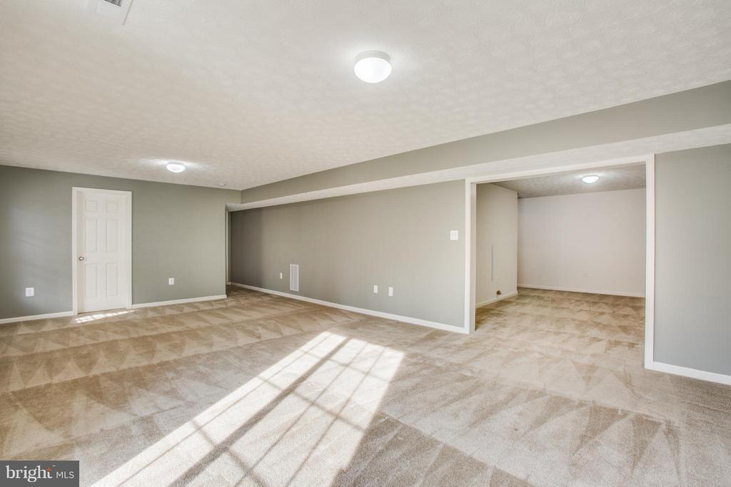 Basement with flexible living and recreation areas - 81 FOUNTAIN DR, STAFFORD