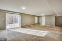 Entertainment central-finished walkout basement! - 81 FOUNTAIN DR, STAFFORD