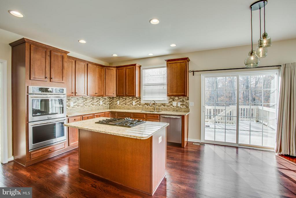 Granite, tile backsplash and stainless, oh my! - 81 FOUNTAIN DR, STAFFORD