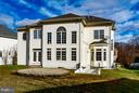 SPECTACULAR REAR ELEVATION W/DOUBLE-WIDE STAIRCASE - 12282 TIDESWELL MILL CT, WOODBRIDGE