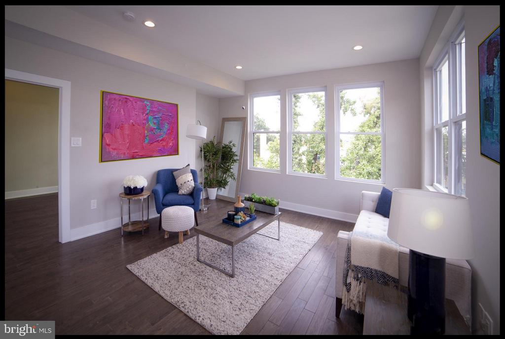 Living Room - 3733 12TH ST NE #302, WASHINGTON