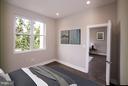 Bedroom - 3733 12TH ST NE #302, WASHINGTON