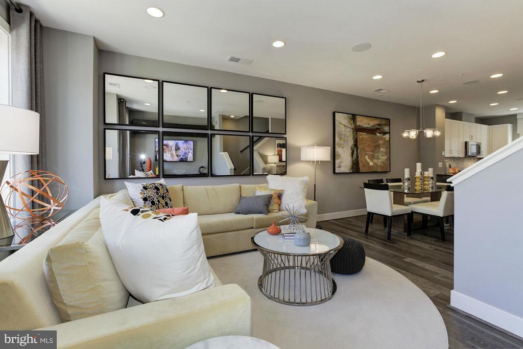 Living Room - 6602 EAMES WAY #BURCH MODEL, BETHESDA