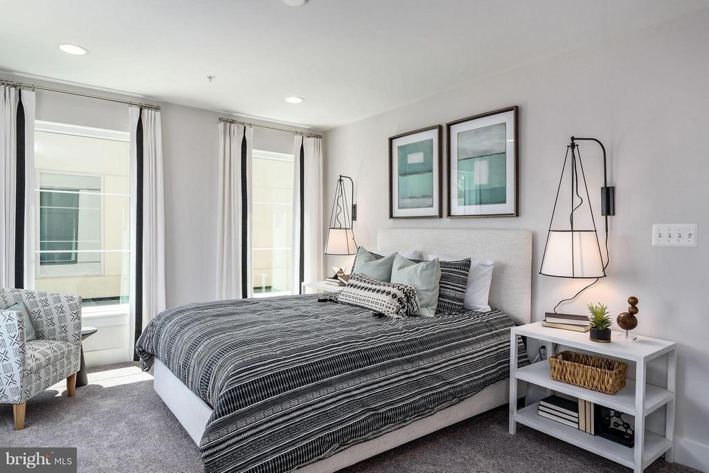 Bedroom - 4942 TRAIL VISTA LN, CHANTILLY