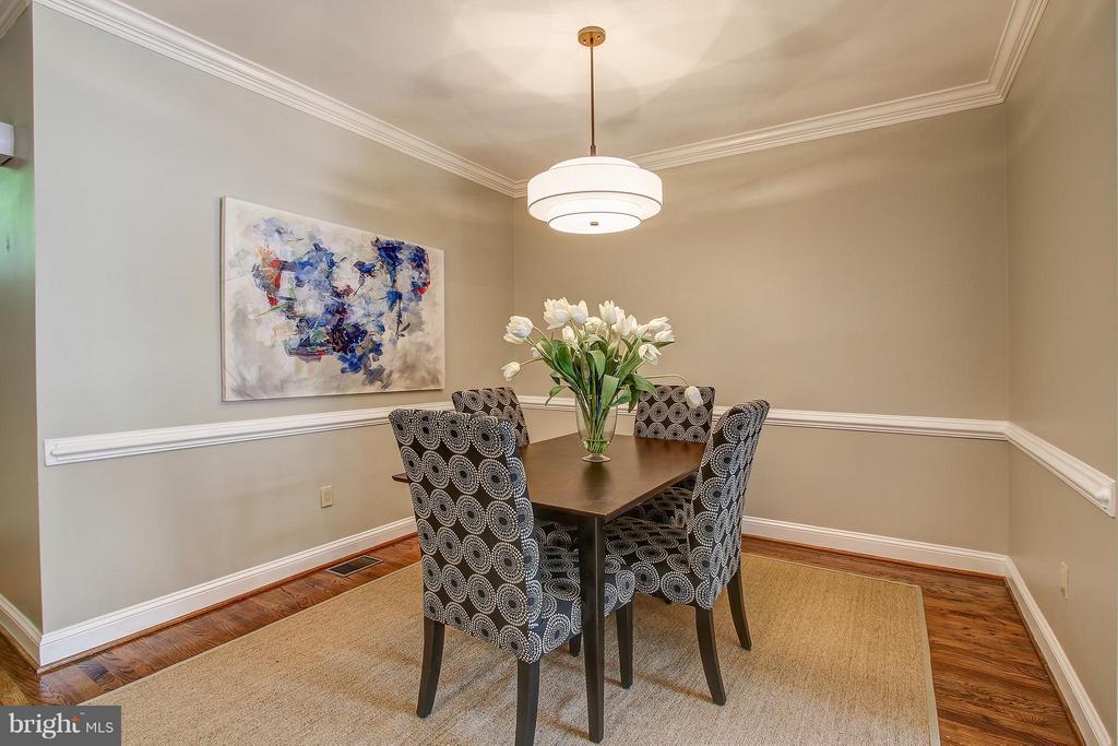 Dining Room - 1504 COLONIAL CT N, ARLINGTON