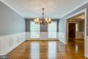 Detailed Molding Through- Out Home - 10637 AVONDALE DR, MANASSAS
