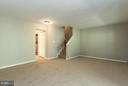 Basement - 15612 PLAIN DEALING PL, MANASSAS