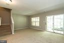 Walk out basement - 15612 PLAIN DEALING PL, MANASSAS
