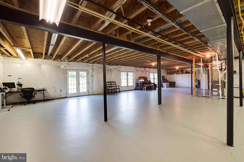 Basement with Walk-out & Windows - 40728 CHEVINGTON LN, LEESBURG