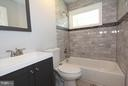 Newly renovated full bathroom - 702 DICKENSON CT, STERLING