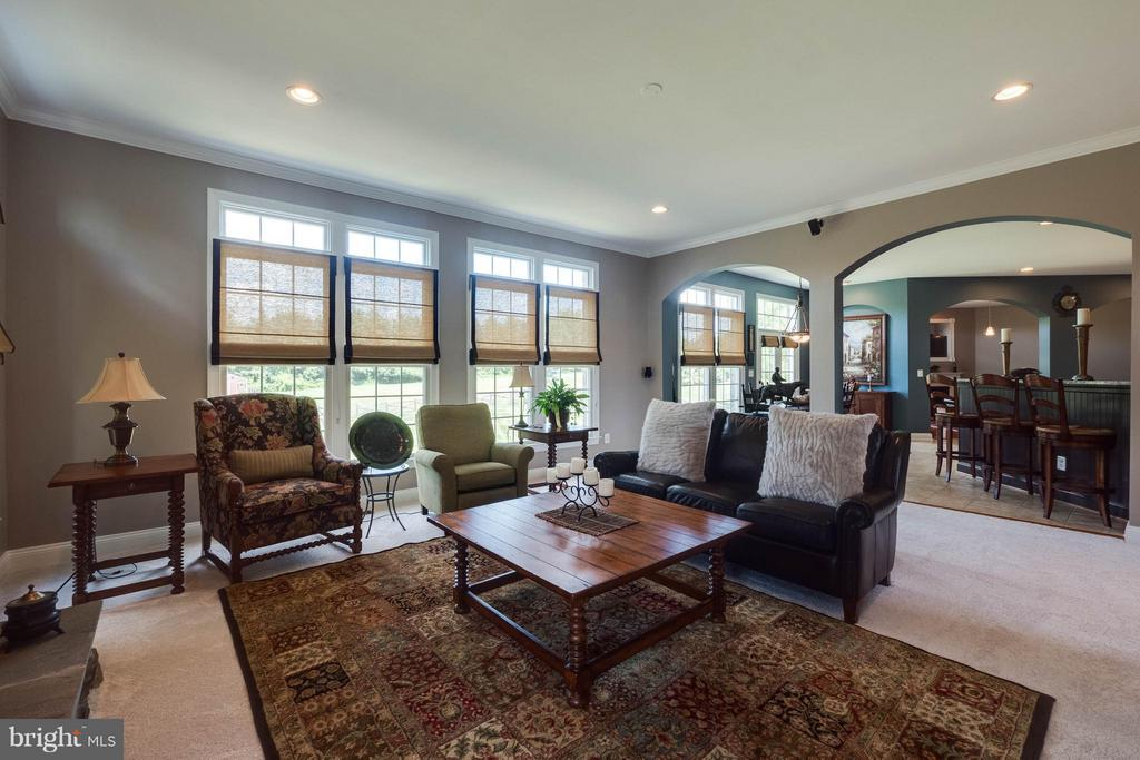 Light-Filled Family Room w/ New Carpet! - 40728 CHEVINGTON LN, LEESBURG
