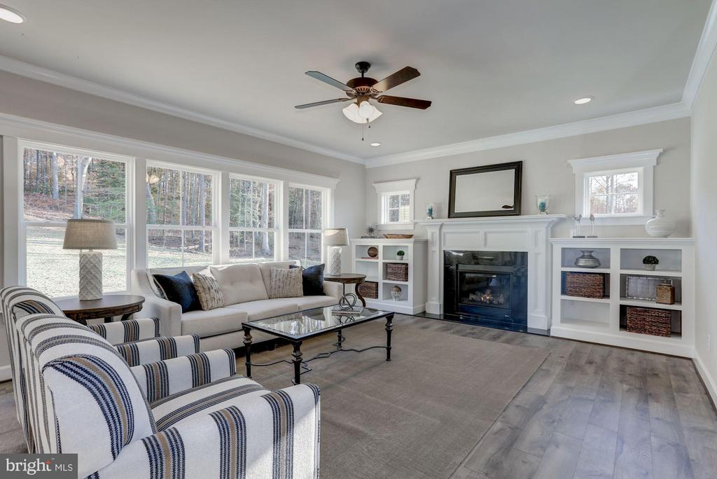 Open and airy with tons of light. - PINEWOOD, FREDERICKSBURG