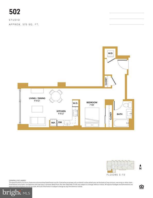 The Bower unit 502 - 1300 4TH ST SE #502, WASHINGTON