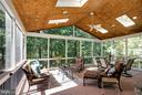 Beautiful Screened Porch - 20145 BLACK DIAMOND PL, ASHBURN