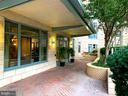Main Entrance (close-up) - 851 GLEBE RD #1312, ARLINGTON