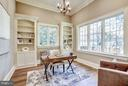 Study with Built-in Bookcases - 3200 ABINGDON ST, ARLINGTON