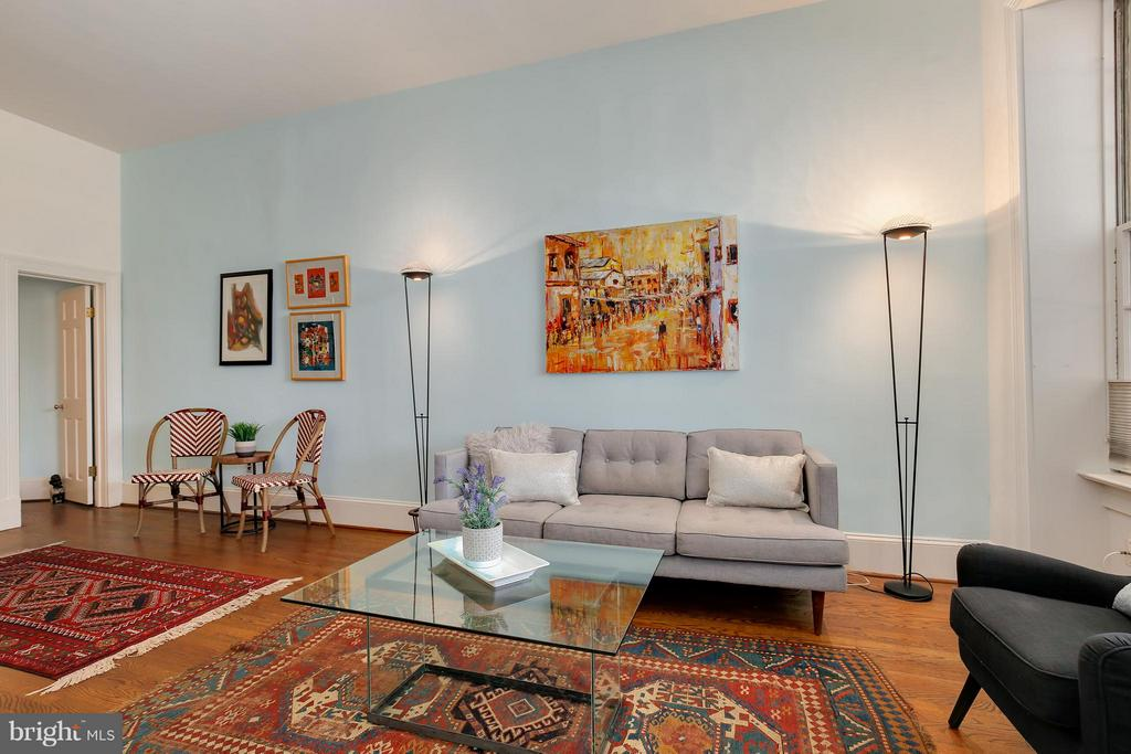 Living Room - 1018 CAPITOL ST NE #3, WASHINGTON