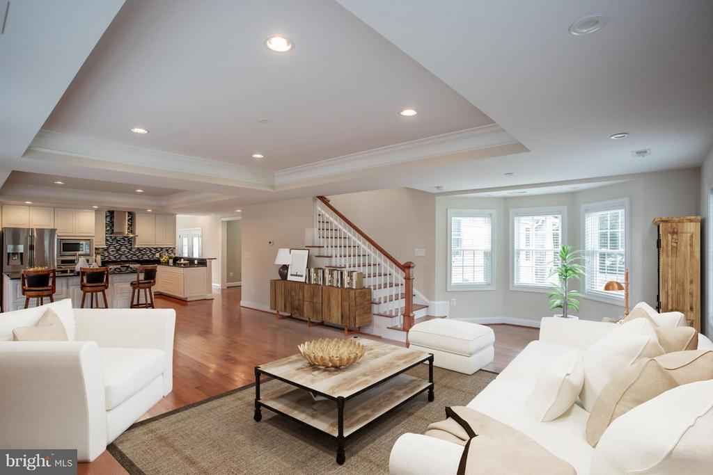 Huge Open Concept Family Room - 8335 MOUNT VERNON HWY, ALEXANDRIA