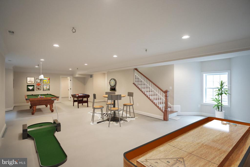 Huge Recreation Room - 8335 MOUNT VERNON HWY, ALEXANDRIA