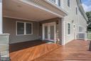 Spacious front porch! - 8335 MOUNT VERNON HWY, ALEXANDRIA