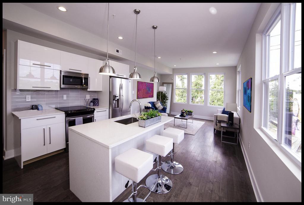 Kitchen - 3733 12TH ST NE #301, WASHINGTON