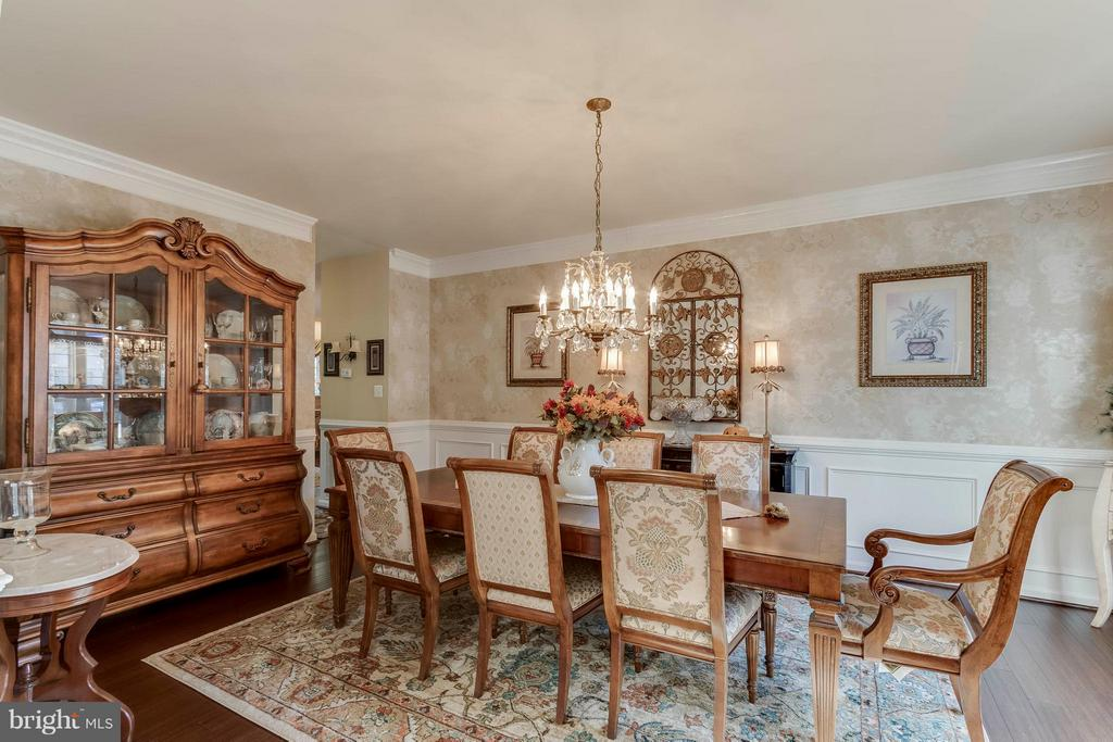 Extended Dining Room - 6412 TINKLING SPRINGS CT, MANASSAS