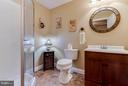 Basement bathrom - 6412 TINKLING SPRINGS CT, MANASSAS