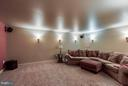 Media room with surround sound - 6412 TINKLING SPRINGS CT, MANASSAS