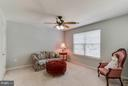 4th Bedroom with large closet - 6412 TINKLING SPRINGS CT, MANASSAS