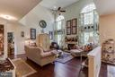 Warm and inviting FR with view of woods - 6412 TINKLING SPRINGS CT, MANASSAS