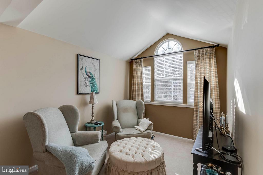 Master has sitting area, vaulted ceilings - 6412 TINKLING SPRINGS CT, MANASSAS