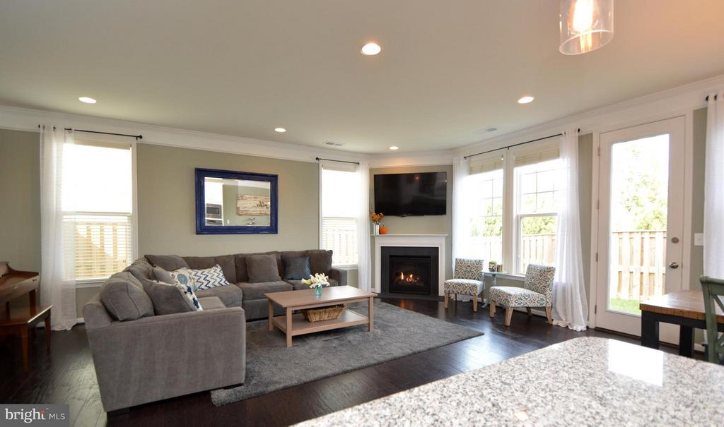 Gas fireplace ready for chilly nights! - 41688 MOORS MINE TER, ALDIE