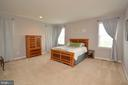 Large Master Bedroom - 41688 MOORS MINE TER, ALDIE
