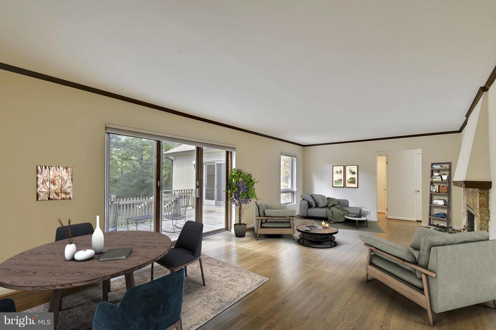Living Room - 5158 PIEDMONT PL, ANNANDALE