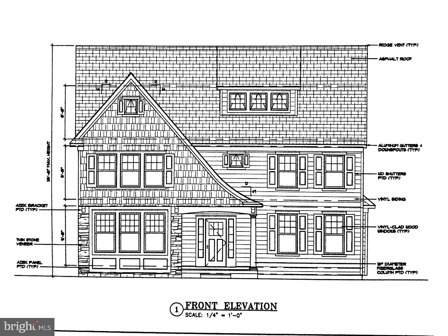 Single Family Home for Sale at 19 REDMAN Avenue Haddonfield, New Jersey 08033 United States