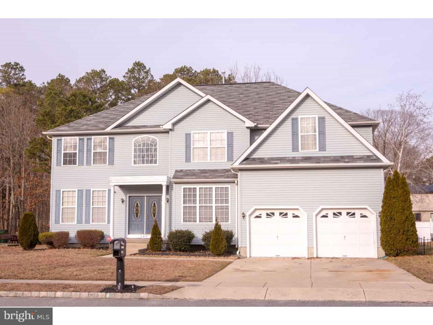 Single Family Home for Sale at 103 BRETTWOOD Drive Egg Harbor Township, New Jersey 08234 United States