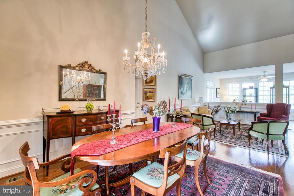 Formal Dining Room & Living Room - 9791 BIG BETHEL CIR, FREDERICKSBURG