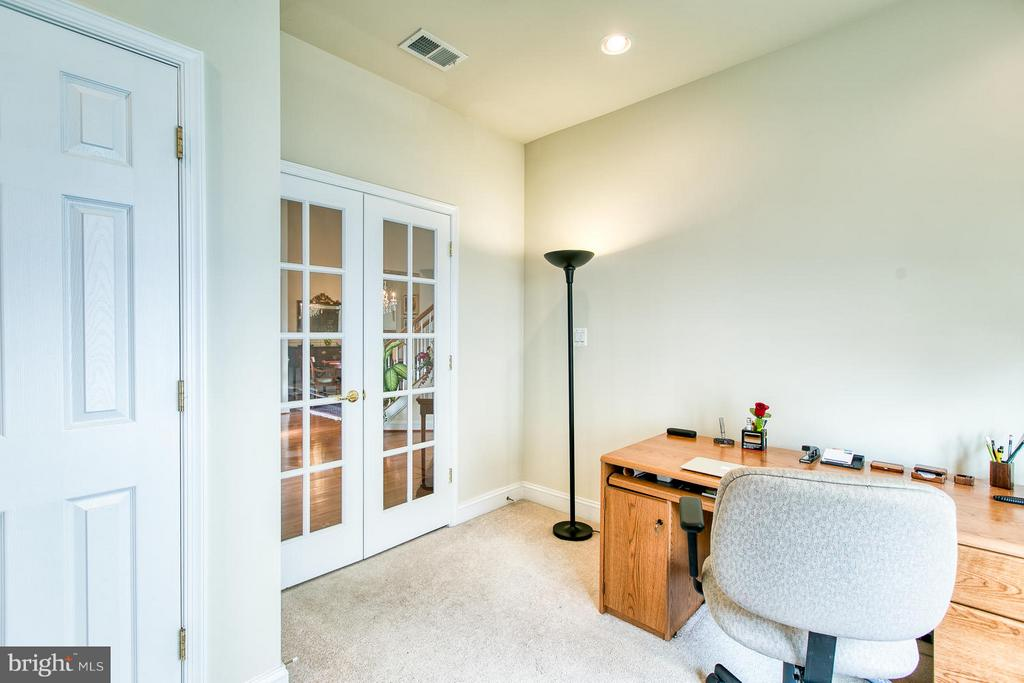 French Doors offer privacy and quiet - 9791 BIG BETHEL CIR, FREDERICKSBURG