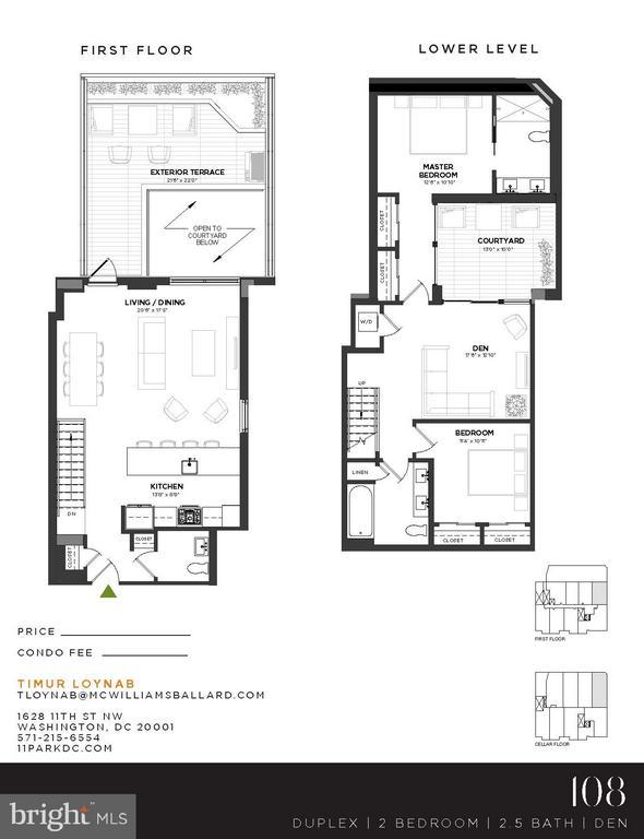 Floor Plan - 1628 11TH ST NW #108, WASHINGTON