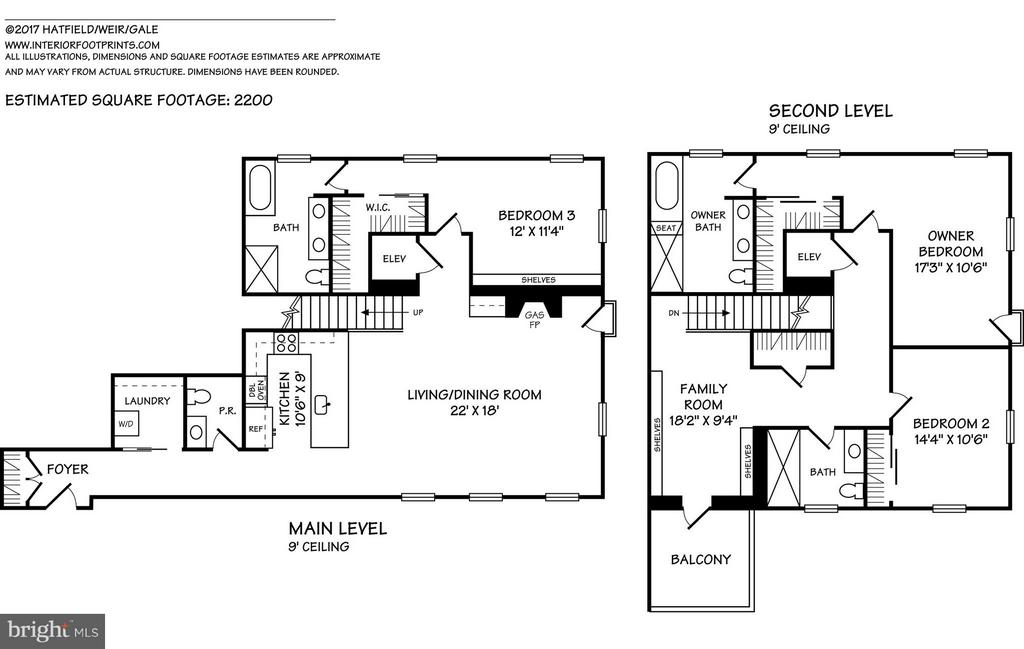 Floor Plan - 3052 R ST NW #307, WASHINGTON