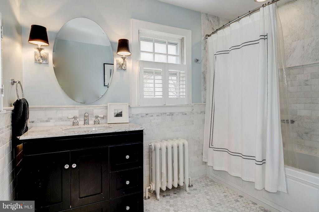 Gorgeously renovated bathroom - 5709 NEVADA AVE NW, WASHINGTON