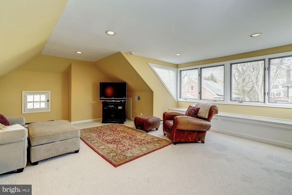 Fourth level w/ wonderful additional living space - 5709 NEVADA AVE NW, WASHINGTON
